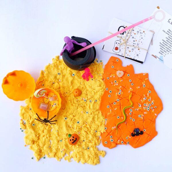 halloween sensory kit